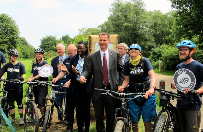 Jeremy Hunt MP Surrey Hills
