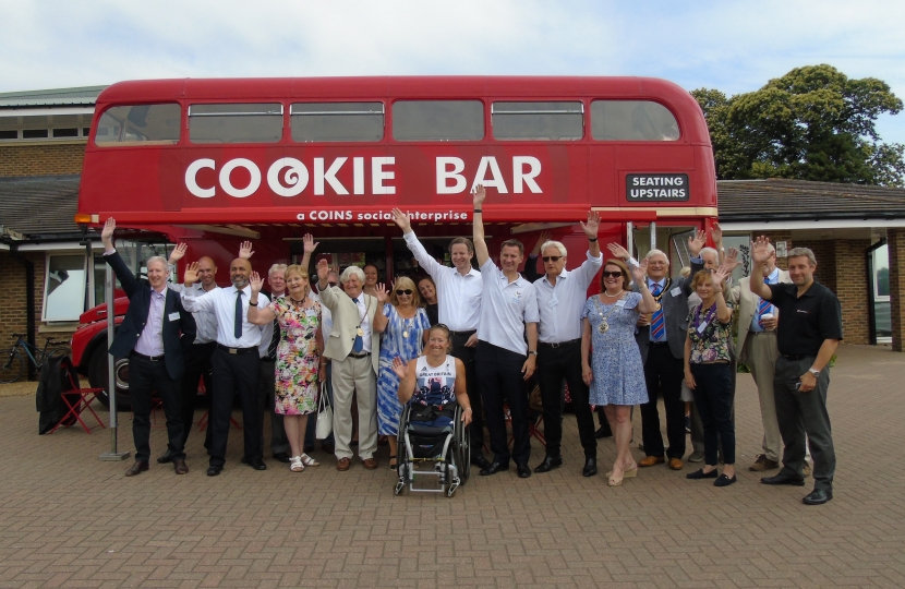 Cookie Bar Bus at the Para Games