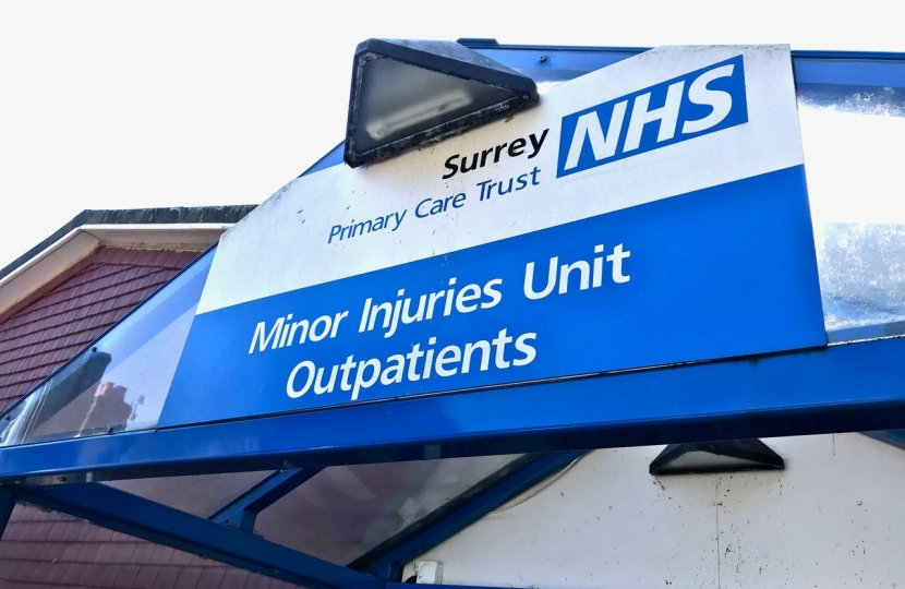 Haslemere Minor Injuries Unit