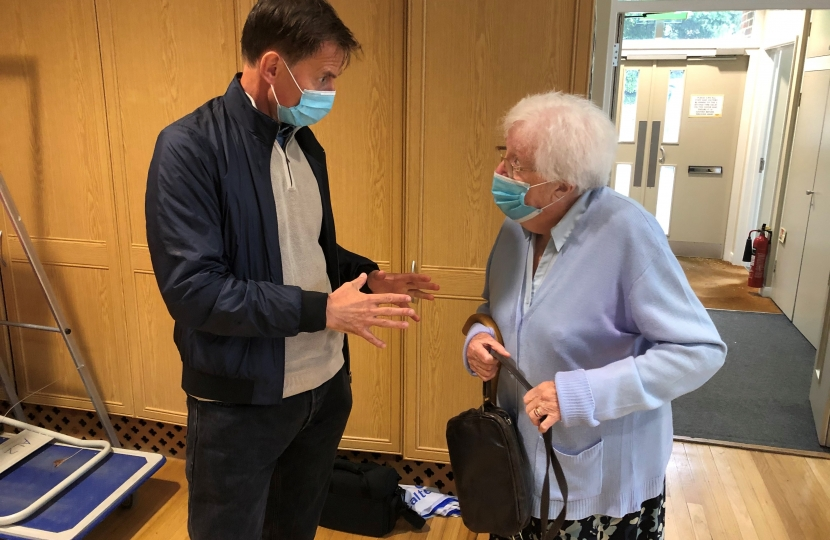 Jeremy Hunt chats with Dr Ann Hunter